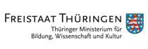 Logo Thüringer Ministerium für Bildung Wissenschaft und Kultur